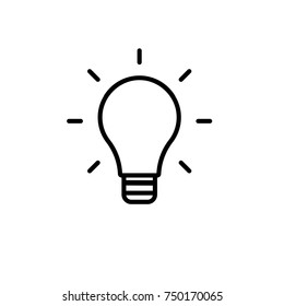 Lamp line icon,vector illustration. Flat design style. vector lamp line icon illustration isolated on White background,lamp line icon Eps10. lamp line icons graphic design vector symbols.