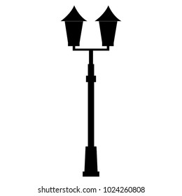 lamp of park icon