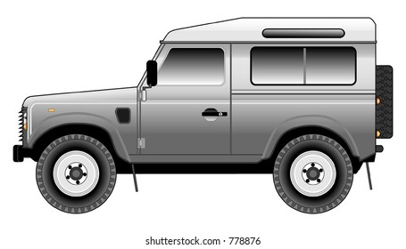 Land Rover Defender 90 CSW (Tinted)