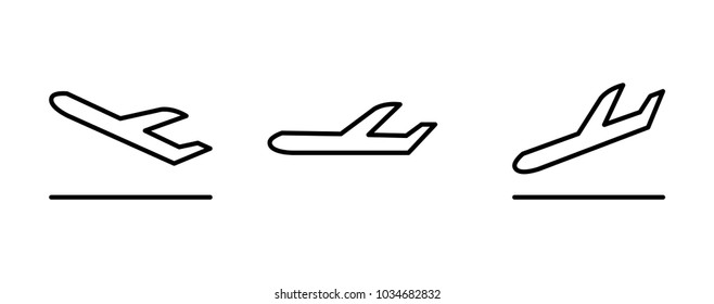 landing arrival icon