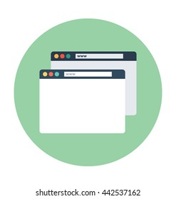 Landing Pages Vector Icon