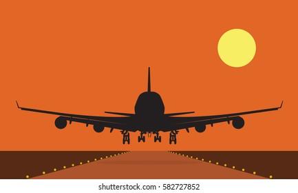 Plane Landing Images, Stock Photos & Vectors | Shutterstock