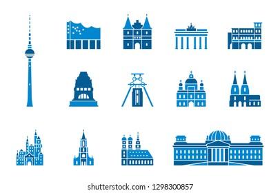 Landmarks of Germany - Iconset (Icons)
