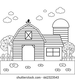 Farm Coloring Pages Images, Stock Photos & Vectors ...
