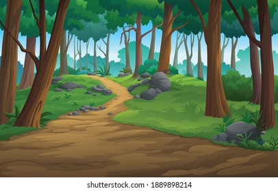 landscape forest daytime so beautiful.