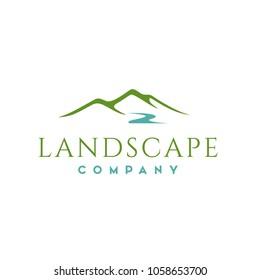 Landscape Hills logo design inspiration