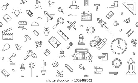 Doodle Machinery Stock Illustrations Images Vectors