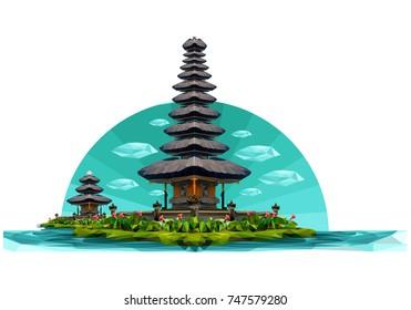 landscape temple