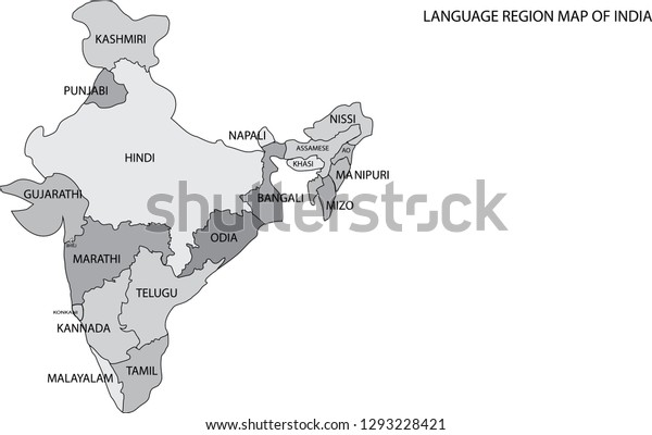 Language Region Map India Text On Stock Vector (Royalty Free ... on india bar graph, india education map, india gdp per capita map, india stereotypes map, india and all its cities, india london map, india's map, india election map, india area code map, india cultural diffusion map, easy india map, india europe map, linguistic diversity map, india animals, india beautiful land, india main cities map, india landscape map, india countries map, india caste map, india and surrounding country map,