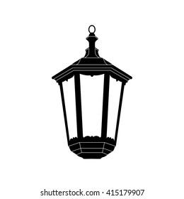 Lantern icon vector illustration. Lantern icon logo.