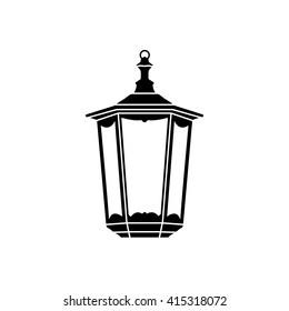 Lantern icon vector illustration. Lantern icon logo