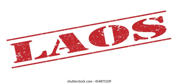 laos vector stamp on white background