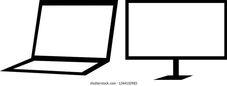 Laptop and computer basic design