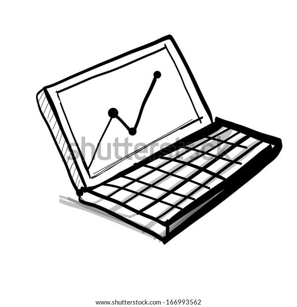 Laptop Diagram Drawing - Wiring Diagram Post