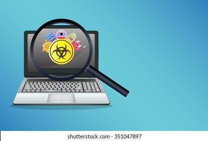 Computer Virus Images, Stock Photos & Vectors | Shutterstock