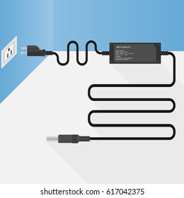 Laptop Power Supply Charge Connect