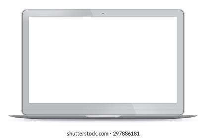 Laptop Vector Illustration.