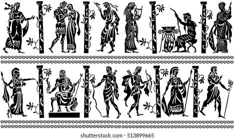Ancient Greek Design Images, Stock Photos & Vectors