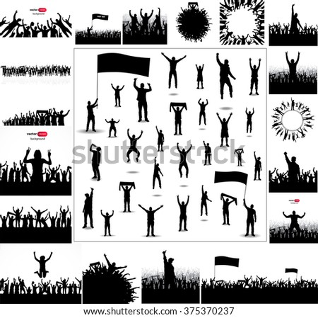 large collection sports posters big set stock vector royalty free