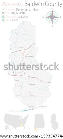 Large Detailed Map Baldwin County Alabama Stock Vector ... on dekalb county, baker county alabama map, madison county, nashville alabama map, houston county, pine grove alabama map, jefferson county, daphne alabama map, macon alabama map, autauga county alabama map, city of cullman alabama map, morgan county, spanish fort, gulf shores, escambia county, north alabama county map, orange beach, gulf shores alabama map, monroe county, black warrior river alabama map, montgomery county, barbour county alabama map, washington county, calhoun county, mobile county, st. augustine alabama map, baldwin beach express map, shelby county, silverhill alabama map, cook county alabama map, stockton alabama map, walton county alabama map, gulf state park alabama map, south carolina alabama map, perdido alabama map, butler county,