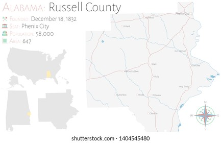 Alabama County Map Vector Images, Stock Photos & Vectors ...