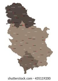 Stuttgart City Map Germany De Labelled Stock Photo Photo Vector