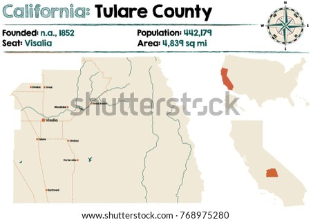 tulare county california