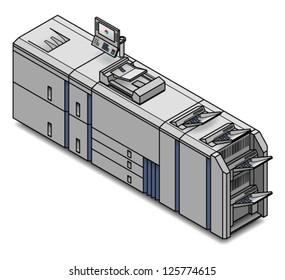 A large digital press/copier/scanner/printer/publisher.