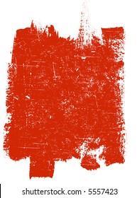 Large Grunge Square 4 - Highly Detailed vector grunge element