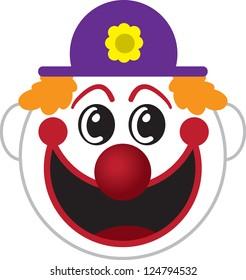 Clown Face Images Stock Photos Vectors Shutterstock