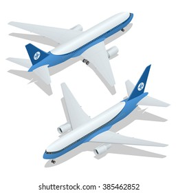 3d Airplane Images, Stock Photos & Vectors | Shutterstock