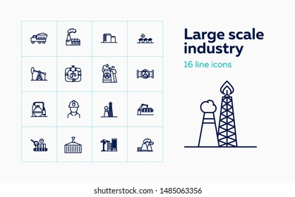 Large Scale Industry Stock Illustrations, Images & Vectors