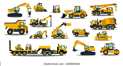 Units building construction equipment and machinery