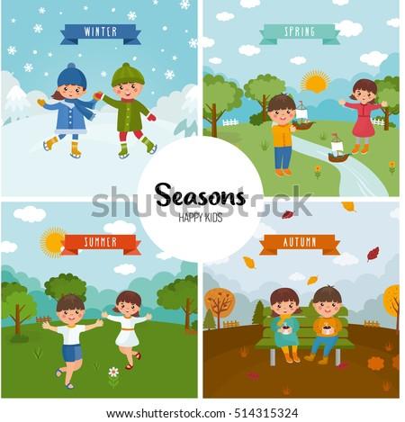 Resultado de imagen de seasons for kids