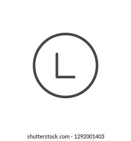 large size laundry symbol vector icon