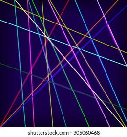 Laser background. Vector Illustration