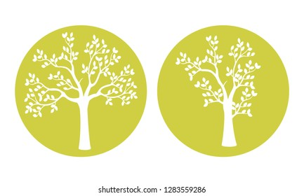 Laser cut, vector design. Laser cutting template tree. paper cutting. ball with lace pattern.