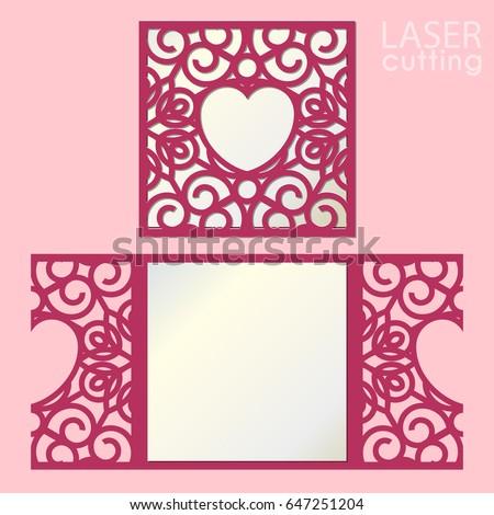 Image Shutterstock Com Image Vector Laser Cut Wedd
