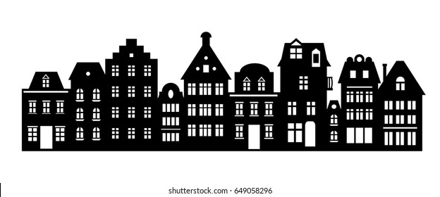 House Silhouette Images Stock Photos Amp Vectors Shutterstock