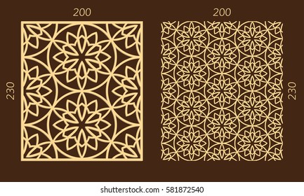 Geometric Flower Invitation Stock Vectors, Images & Vector Art ...