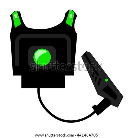 Laser Game Laser Tag Equipment Gun Stock Vector Royalty