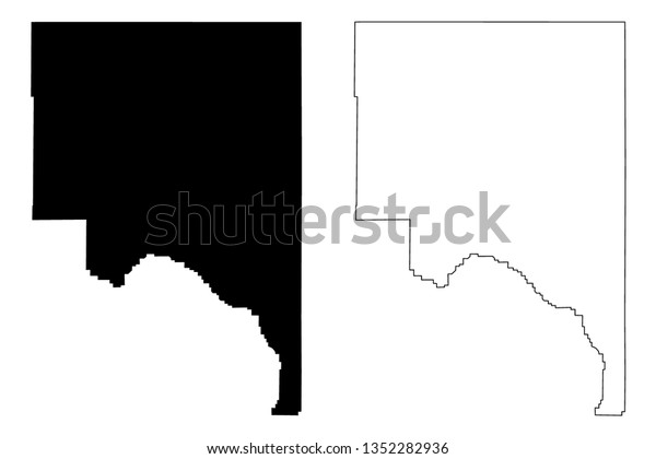 Counties In California Map.Lassen County California Counties California United Stock Vector