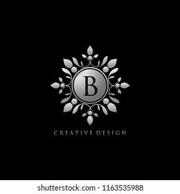 lassy B Royal Silver Logo Design