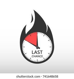 Last chance. Stopwatch