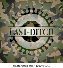 Last-ditch on camouflage pattern