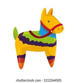 latin pinata isolated icon
