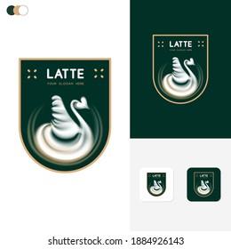 Latte Logo Template Design Concepts