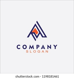 Latter Abstrack logo for any business