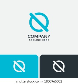 latter o logo, stop logo. suitable for your company