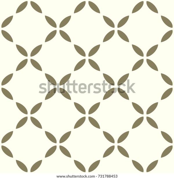 Lattice background. Arabesque geometric pattern. Gold and white decorative ornament.